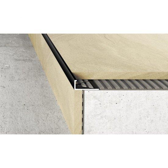 Profil krawędziowy A50 czarny 2,5 m EFFECTOR