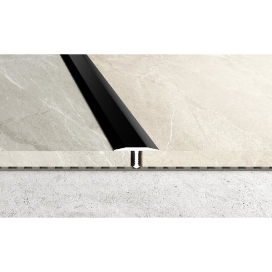 Profil fugowy A55 czarny 2,5 m EFFECTOR