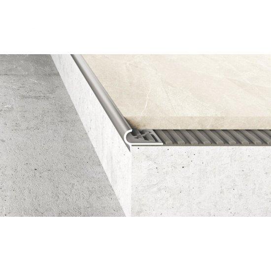 Profil schodowy półokrągły A80 inox gł. 2,5 m EFFECTOR