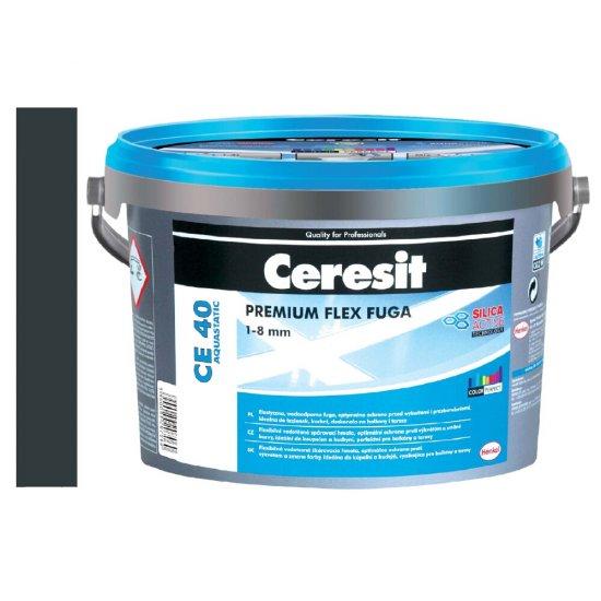 Fuga elastyczna CERESIT CE 40 graphite 5 kg