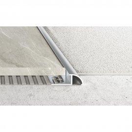 Profil najazdowy A59 srebrny 2,5 m EFFECTOR