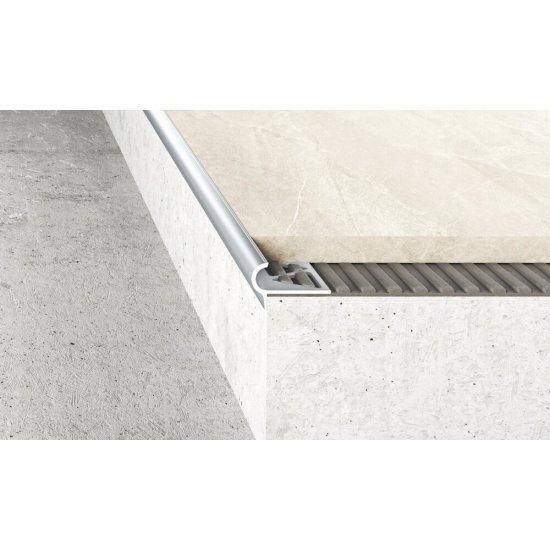 Profil schodowy półokrągły A80 srebrny 2,5 m EFFECTOR