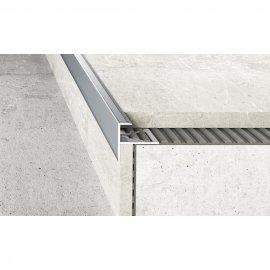 Profil schodowy do glazury A85 srebrny 2,5 m EFFECTOR