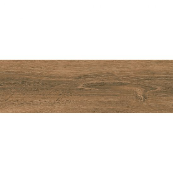 Gres szkliwiony ITALIANWOOD brown mat 18,5x59,8 gat. I
