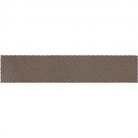 Płytka ścienna listwa FLORINA brown glossy 5x25 gat. I