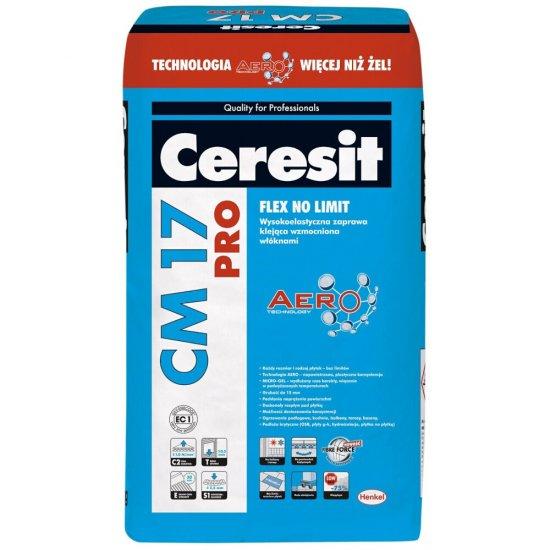 Zaprawa klejąca elastyczna do płytek CERESIT CM 17 25 kg