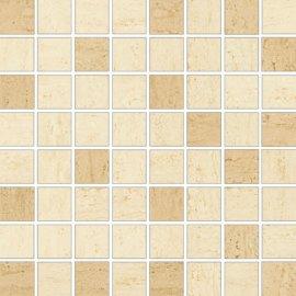Płytka ścienna mozaika DESA cream mix mat 25x25 gat. I
