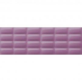 Płytka ścienna VIVID COLOURS violet pillow structure glossy 25x75 gat. II