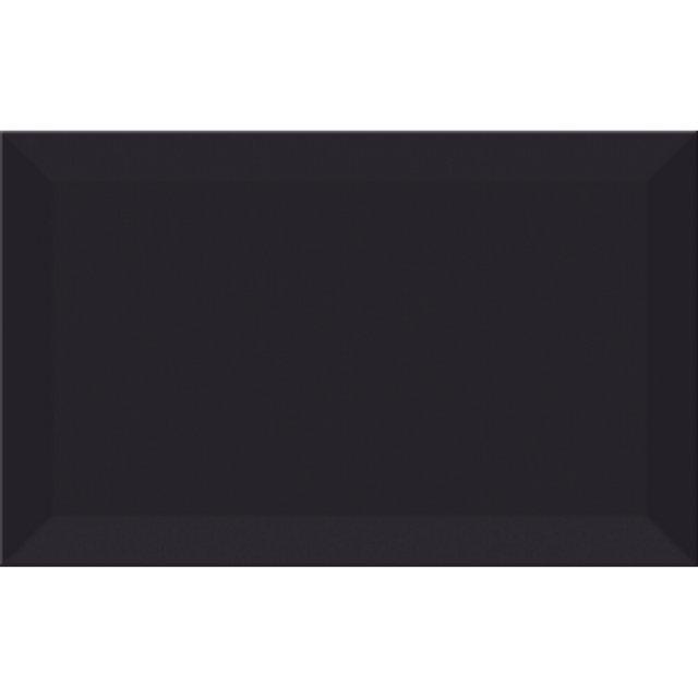 Płytka ścienna PONTI black struktura błyszcząca 25x40 gat. I