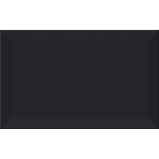 Płytka ścienna PONTI black structure glossy 25x40 gat. I