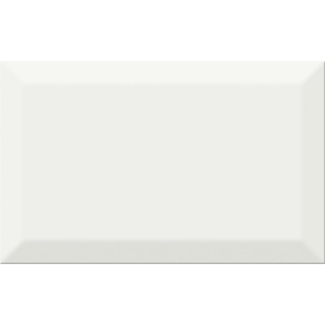 Płytka ścienna PONTI white struktura błyszcząca 25x40 gat. I