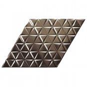 Gres szkliwiony hiszpański Realonda DIAMOND WAVES antrhacite 40x70 gat. I