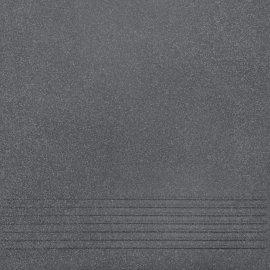 Gres techniczny stopnica NOSO graphite mat 30x30 gat. II