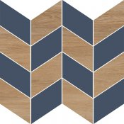 Płytka ścienna mozaika LOVE YOU NAVY dark blue full satin 29x29 gat. I