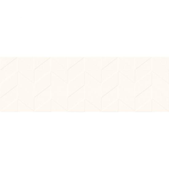 Płytka ścienna LOVE YOU NAVY white structure satyna 29x89 gat. I