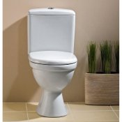 Kompakt WC 114 MERIDA MR010 B 3/6 deska polipropylen