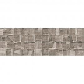 Płytka ścienna inserto NERINA SLASH beige-brown structure micro 29x89 gat. I