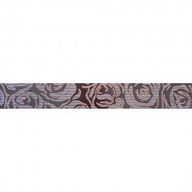 Gres szkliwiony listwa MISTIC brąz mat 7,5x59,8 gat. I