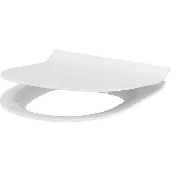 Deska sedesowa CREA owalna duroplast wolnoopad łatwe wyp one button