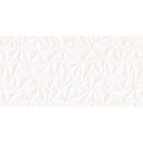 Płytka ścienna BLANKA white geo structure glossy 29x59 gat. II