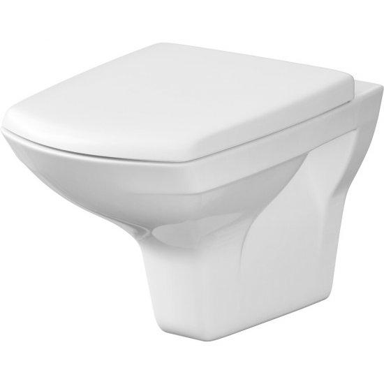 Miska WC podwieszana CARINA prostokątna deska duroplastowa wolnoopad