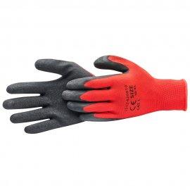 Rękawice *82* czerwono/czarne L latex kat.I HARDY WORKING TOOLS