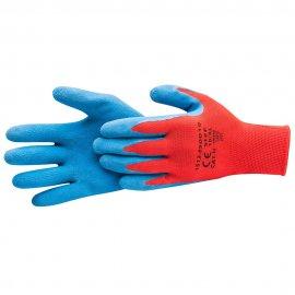 Rękawice *85* SuperSoft XL. czerwono/niebieskie kat.II HARDY WORKING TOOLS