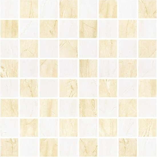 Płytka ścienna mozaika MADEA beige-brown mat 25x25 gat. I