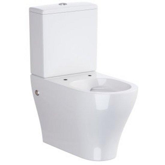 Miska WC podwieszana kompaktowa URBAN HARMONY odpływ uniwersalny powłoka Perfect Clean