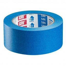 Taśma *586* 38x33m niebieska papierowa HARDY WORKING TOOLS