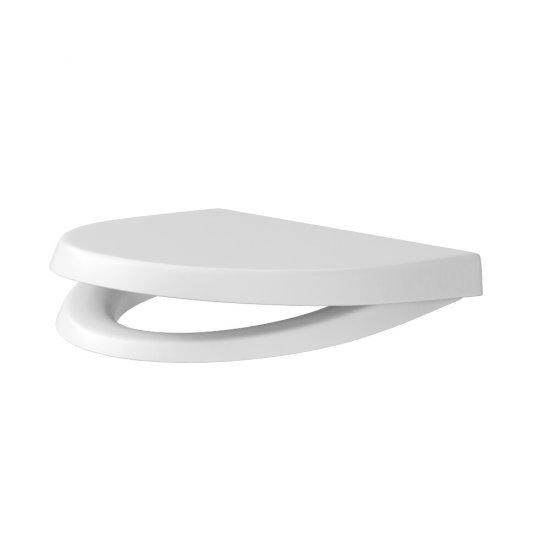 Deska sedesowa parva duroplast biała