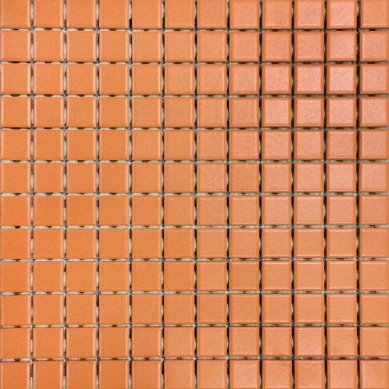 Mozaika gresowa szkliwiona CORTA orange mat 30x30 gat. I