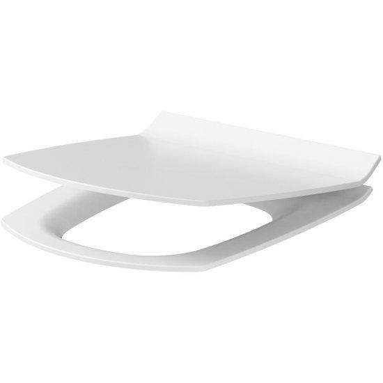 Deska sedesowa CARINA SLIM prostokątna duroplast antybakt wolnoopad z łatwym wyp