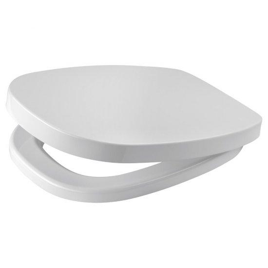 Deska sedesowa FACILE prostokątna duroplast antybakt wolnoopad z łatwym wyp