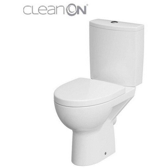 Kompakt WC 61 478 parva new clean on 010 3/5 des duroplast wo łw 77,5