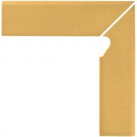 Klinkier SIMPLE SAND sand cokół schodowy prawy mat 8x30 gat. I