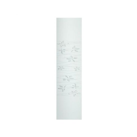 Szyba do kabiny prysznicowej część stała Tesalia 80 szkło mrożone Cariba