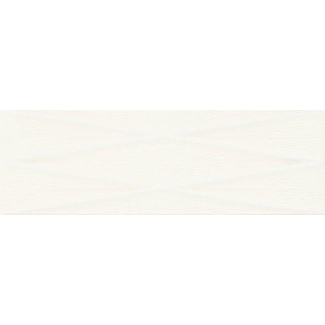 Płytka ścienna GRAVITY white lines structure satin 24x74 gat. I