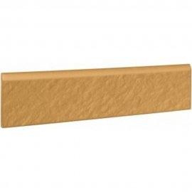 Klinkier SIMPLE SAND sand cokół struktura mat 8x30 gat. I