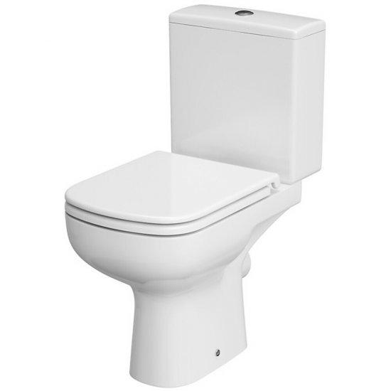 Kompakt WC 574 COLOUR NEW 010 3/5 prostokątny deska duroplast antybakt