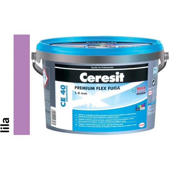 Fuga elastyczna CERESIT CE 40 lila 2 kg