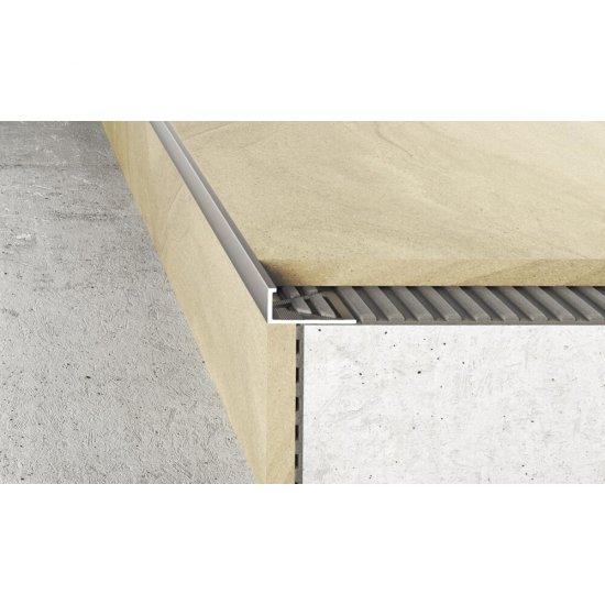 Profil krawędziowy A51 inox 2,5 m EFFECTOR