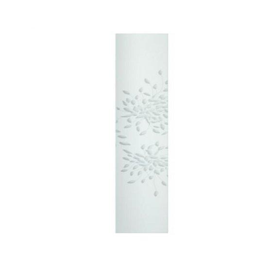 Szyba do kabiny prysznicowej część stała prawa Xantia 90 szkło mrożone S21