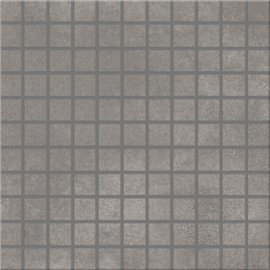 Gres szkliwiony mozaika CITY SQUARES grey 29,7x29,7 gat. I