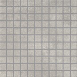 Gres szkliwiony CITY SQUARES light grey mozaika 29,7x29,7 gat. I