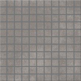 Gres szkliwiony mozaika CITY SQUARES grey 29,7x29,7 gat. I*