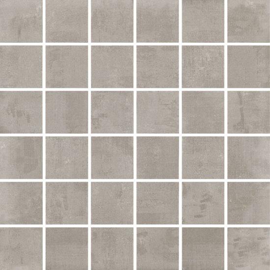 Gres szkliwiony FARGO szary mozaika satyna 29,7x29,7 gat. I