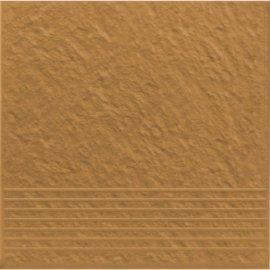Klinkier SIMPLE SAND sand stopnica struktura mat 30x30 gat. I*