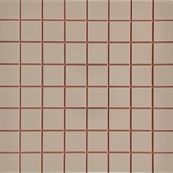 Płytka ścienna mozaika INWENCJA mocca i5 mat 20x20 gat. I