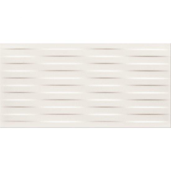 Płytka ścienna BASIC PALETTE white braid structure satyna 29,7x60 gat. I